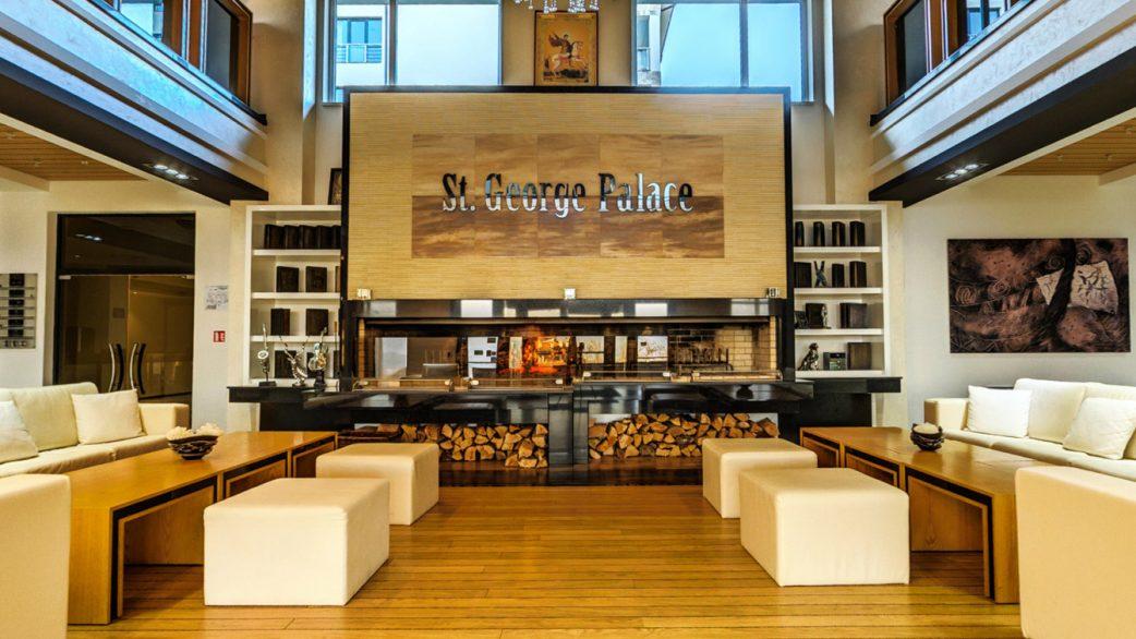 Saint George Palace Bansko Hotel Reception - About